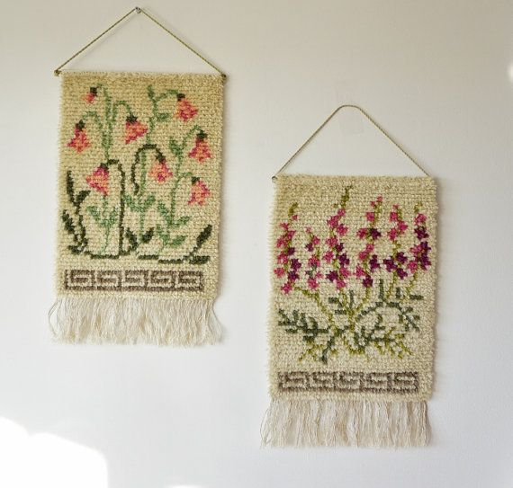 Hey, I found this really awesome Etsy listing at https://www.etsy.com/listing/286685085/swedish-wool-rya-rug-wall-hanging-with