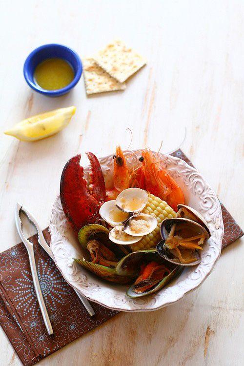 New england, Seafood and England on Pinterest
