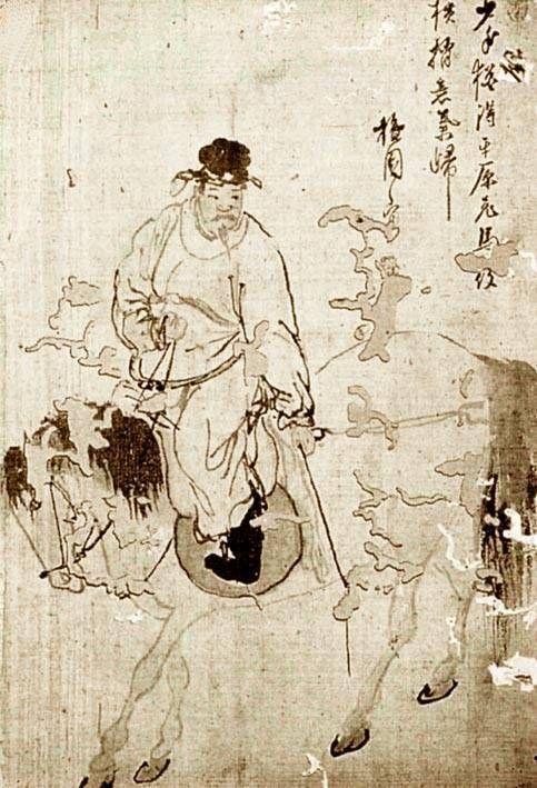 단원(檀園) 김홍도(金弘道).