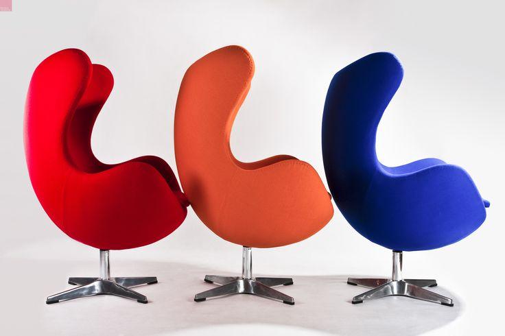 Egg Chair - nowoczesny fotel. www.modnewnetrze.pl