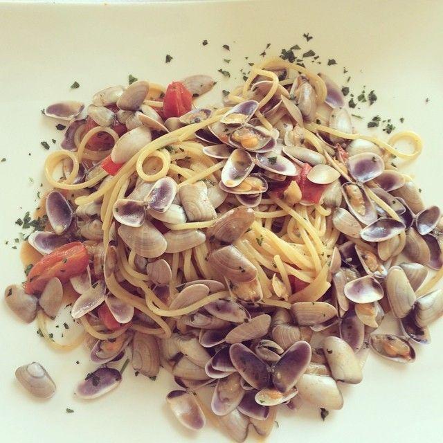 Spaghetti alle telline  #liberty #grancaffeliberty #asola #mantova #food #italy #italia #mare #pesce #ristotrante #restaurant