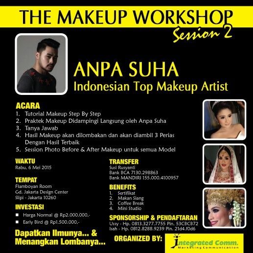 THE MAKEUP WORKSHOP SESSION 2 WITH ANPA SUHA