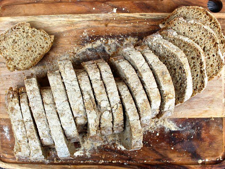 Naturligt glutenfritt surdegsbröd