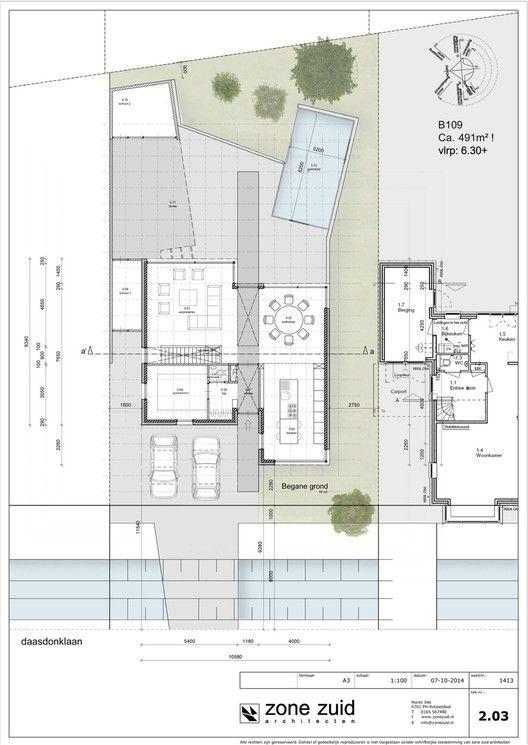 Galería De Casa Daasdonklaan / Zone Zuid Architecten   22. Small House  PlansHouse ...