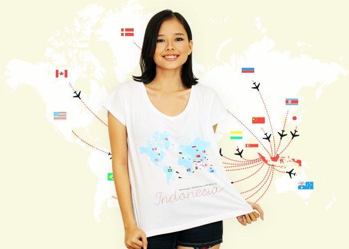 Kemanapun Belajarnya, Pulangnya ke Indonesia Juga  #gantibaju.com #tee #kemanapunbelajarnya,pulangnyakeindonesiajuga #design #indonesian