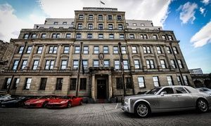 Groupon - Newcastle: 1 or 2 Nights for 2 with Breakfast, Late Check-Out and Optional Dinner, Wine and Tea at The 4* Vermont Hotel in Newcastle Upon Tyne. Groupon deal price: £89