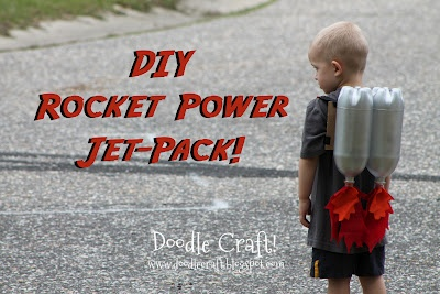 Doodle Craft...: Super Sci-Fi Rocket fueled Jet Pack