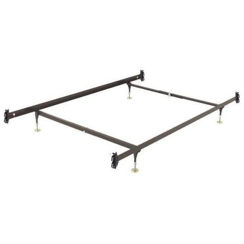 Twin Size Sy Metal Bed Frame With Hook On Headboard Footboard Brackets Quality House