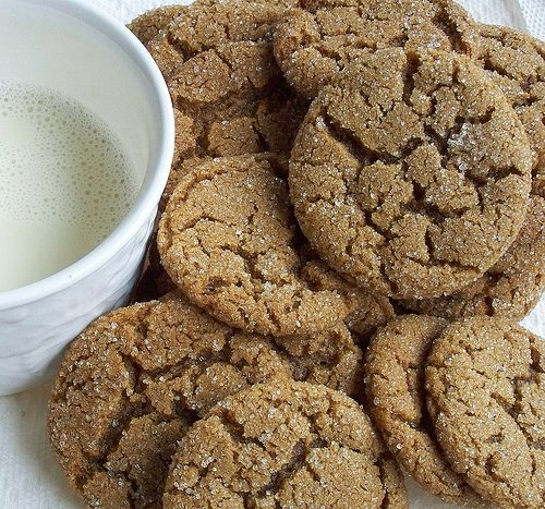 Perfect   Soft and Chewy Ginger Snaps gingersnaps.  I made these last night and they really are perfect!