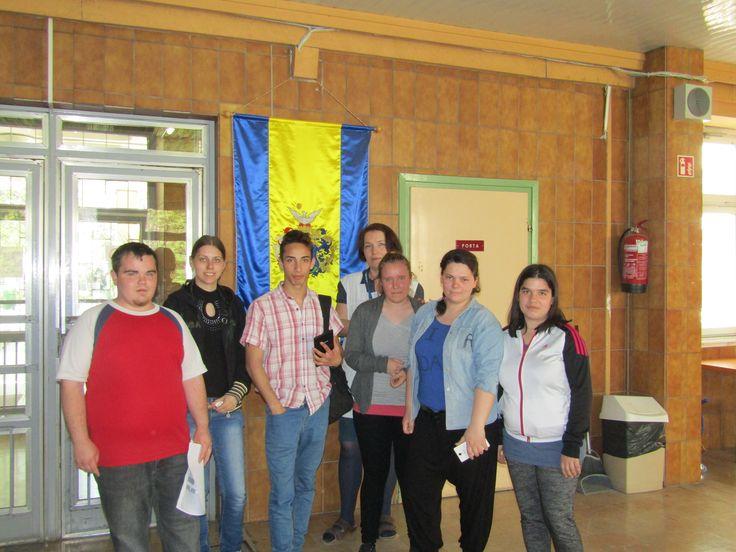 Az IFJAK csapata Hajni tanárnővel