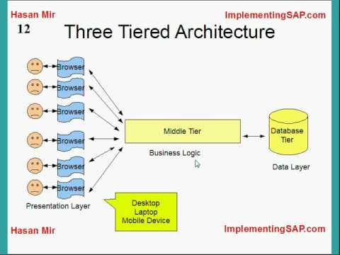 Introduction to SAP ERP - components, modules etc...