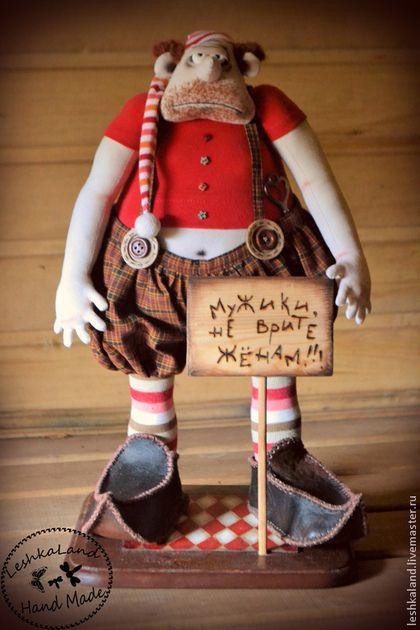 Кукла Унылое бревно. Handmade.