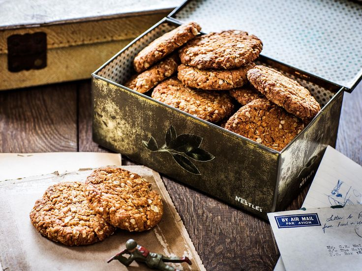 These sweet, golden Anzac biscuits are perfect enjoyed with a mug of tea or coffee. Author Natalie Oldfield of 'Love and Food From Gran's Table' shares her Gran Dulcie May's special recipe.