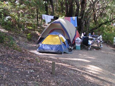 Wilsons Promontory, Accommodation, Camping, Caravan Park - Waratah Bay