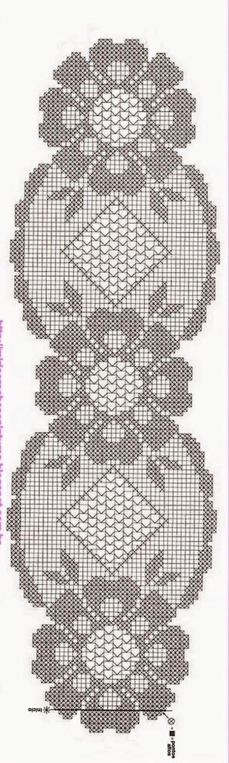 Kira scheme crochet: Scheme crochet no. 2001