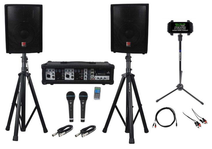Car Audio & VideoPro AudioMarine AudioLighting Karaoke Home/Portable Audio Package: Rockville RPG2X10 800 Watt Complete PA System Package With Mixer/A... #gear #instruments #musical #audio #equipment #monitors #speakers #system #machine #iphone #android #dual #ipad #laptop #karaoke #youtube #rockville