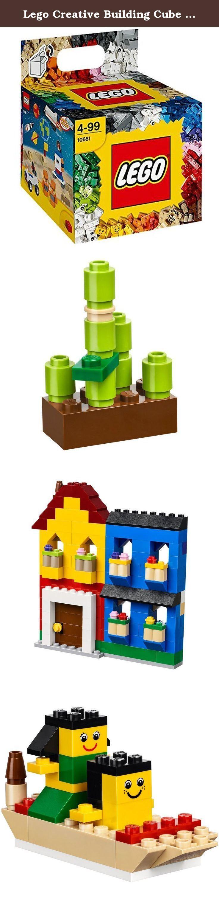 Lego Creative Building Cube 10681-1. Questo fantastico set contiene ben 600 mattoncini! Con forme fantasiose come antenne paraboliche, cerniere ed elementi curvi, il Cubo creativo LEGO ?? perfetto per il gioco creativo o per integrare qualsiasi altra collezione di mattoncini LEGO. Contiene mattoncini standard in una vasta gamma di colori e occhi, volti e tanti altri elementi stampati per raccontare tante storie. Auto, animali della giungla e razzi spaziali. . . l'unico limite a ci?? che…