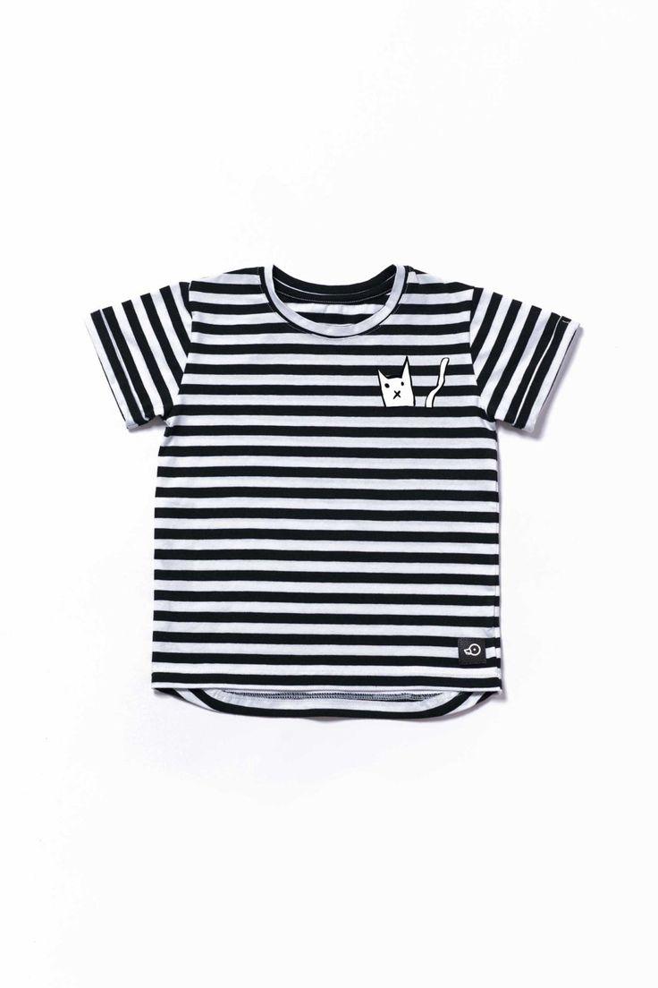 Stripes Lightweight t-shirt, Cloud toddler graphic tee, kids short sleeve shirt, kids shirt, modern hipster toddler, Monochrome shirt by Pocopato on Etsy