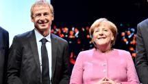 Klinsmann wurde von Merkel beim DFB-Bundestag in Erfurt geehrt