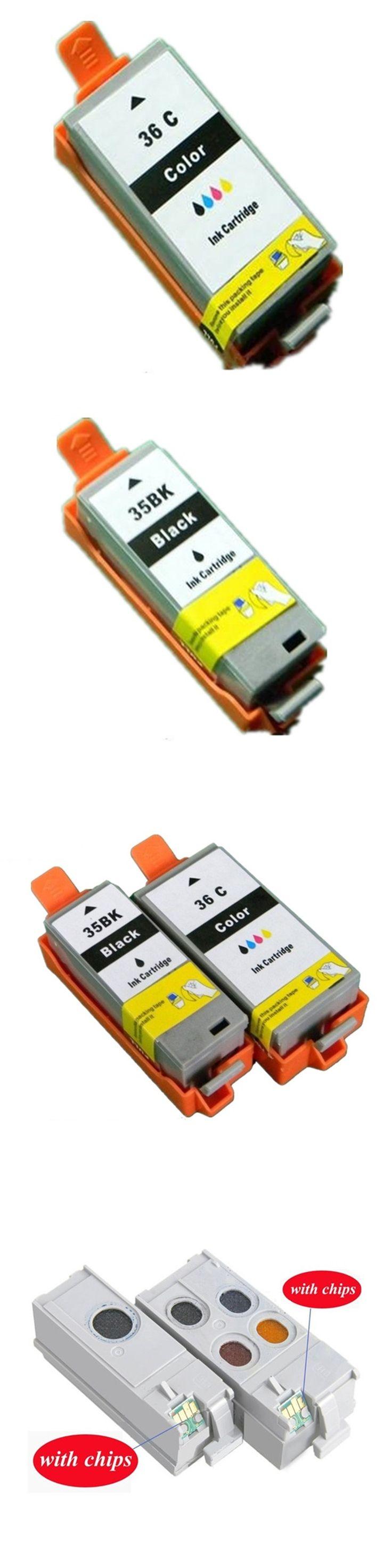 PGI-35 PGI35 PGI-35BK CLI-36C CLI-36 PGI 35 CLI 36 Ink Cartridges For Canon Pixma IP100B IP100 IP100 mini 260 320 Inkjet Printer
