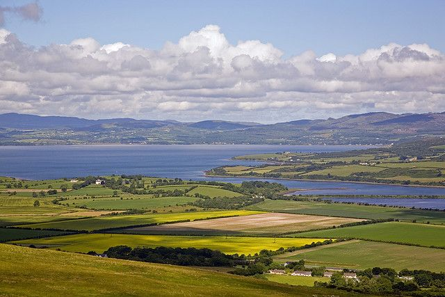 Visit The City of Derry - Northern Ireland - View From Grianan Across Lough Swilly, County Donegal. Please click the photo for the full article on Derry and surrounding areas.