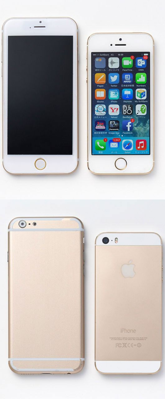 """These mockups offer a """"rough idea"""" of the final iPhone 6."""
