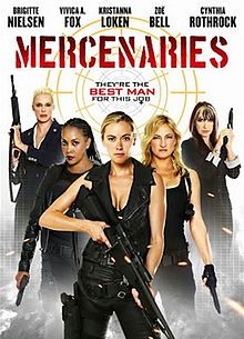 """Mercenaries (2014) - the Asylum's female-centric """"Expendables"""" knockoff"""