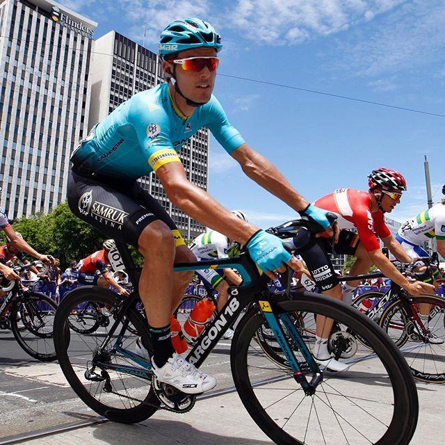Luis Leon Sanchez on the final stage of Tour Down Under 2017