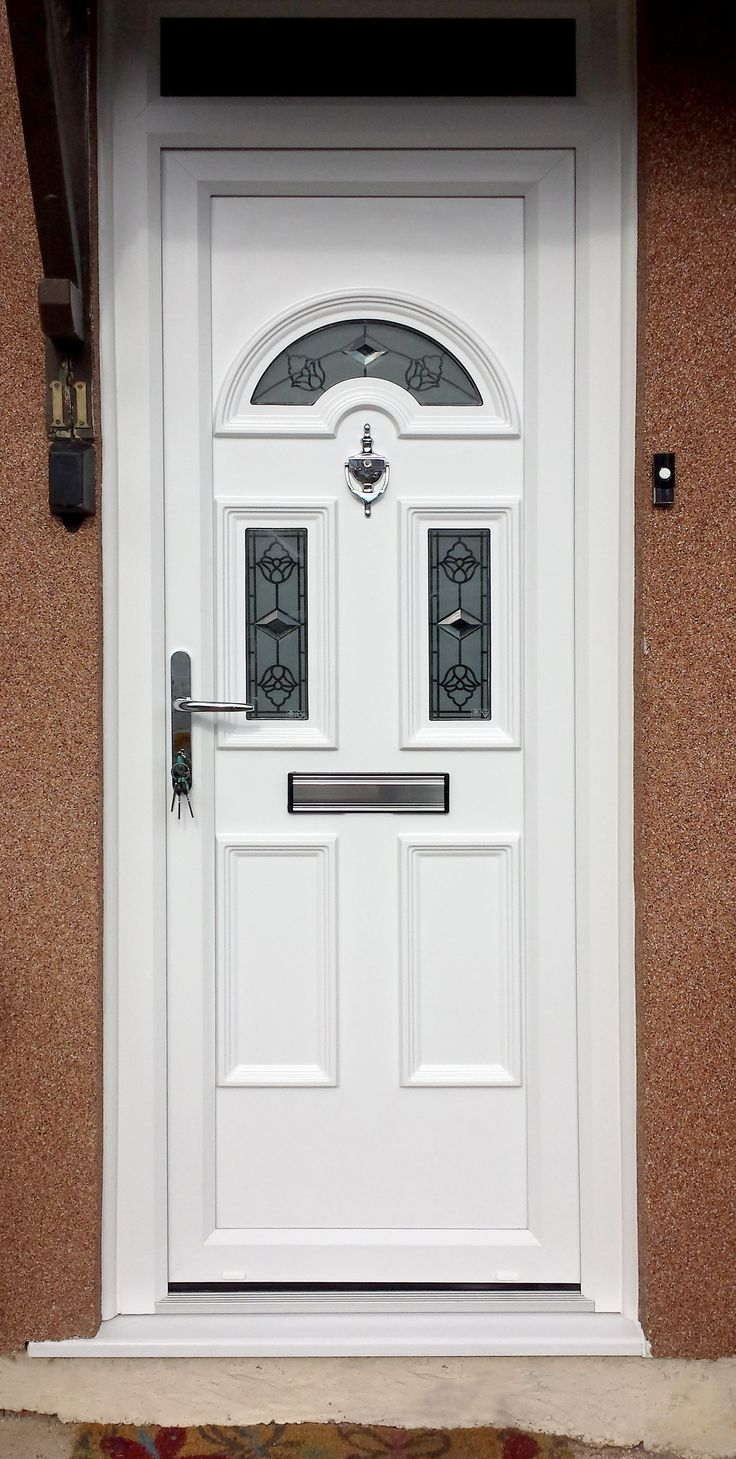 A beautiful uPVC Front Door from Value Doors! & 102 best Previous Installations images on Pinterest | Front doors ... Pezcame.Com