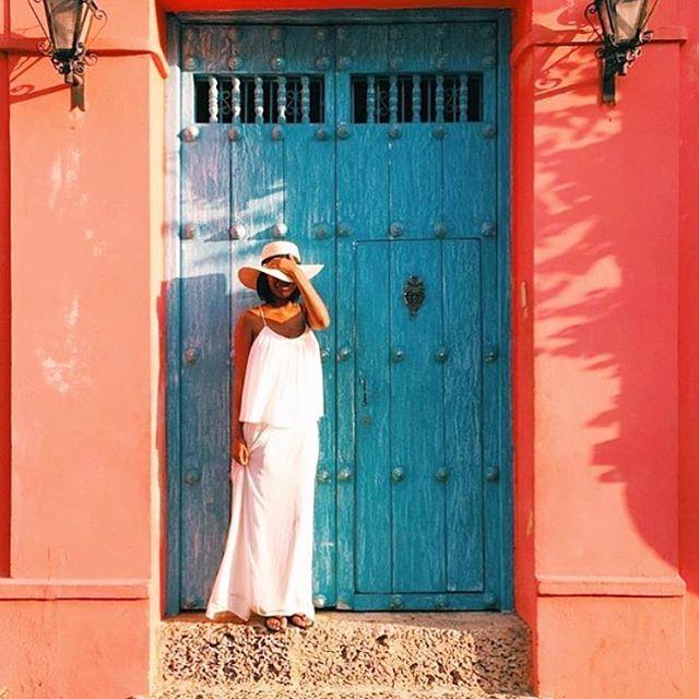 Vivid. @_sylph3 // Cartagena, Colombia. #travelnoire #cartagena Colombia on the list? Tag your travel crew!