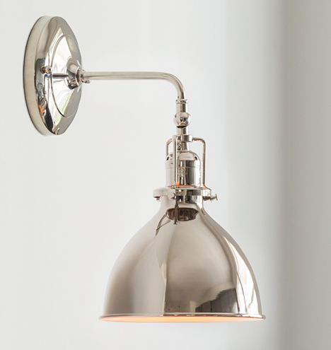 for style/ may be useful at some key areas like check out area, baths, special display? Grandview Single Sconce | Rejuvenation