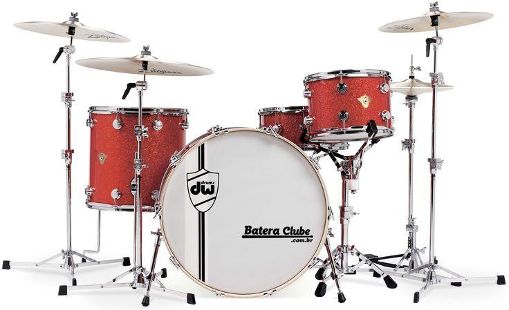 Bateria DW Classics Series. www.BateraClube.com.br