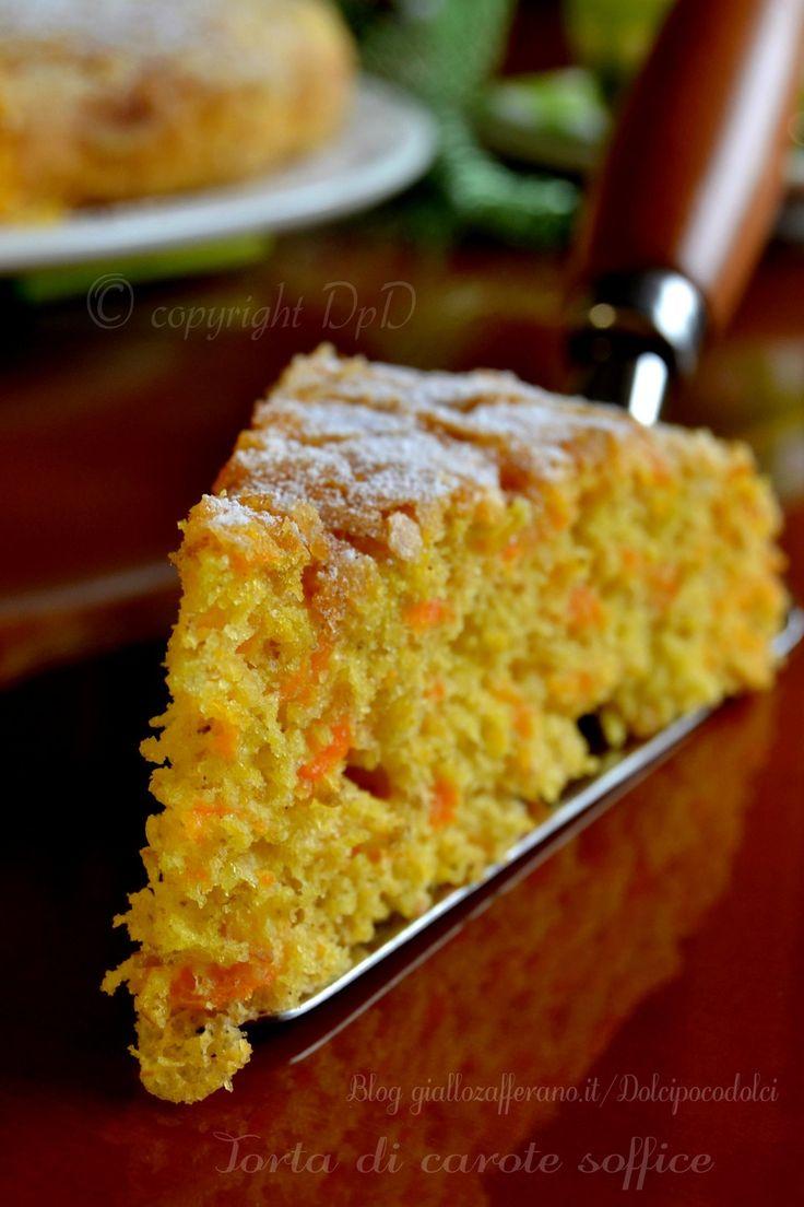 torta di carote soffice | dolcipocodolci