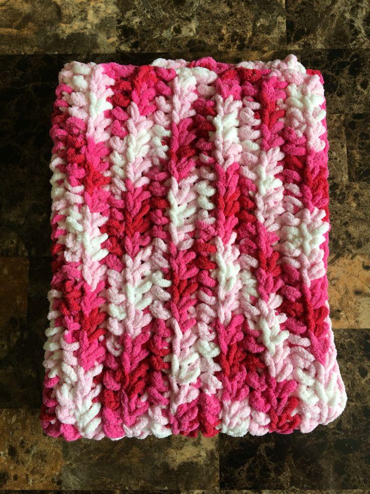 Pink baby blanket, newborn blanket, blanket, baby, newborn, crochet baby blanket, pink, valentines, carrier, car seat, crib, chevron, zigzag by ComfyCozyCo on Etsy https://www.etsy.com/listing/465348698/pink-baby-blanket-newborn-blanket