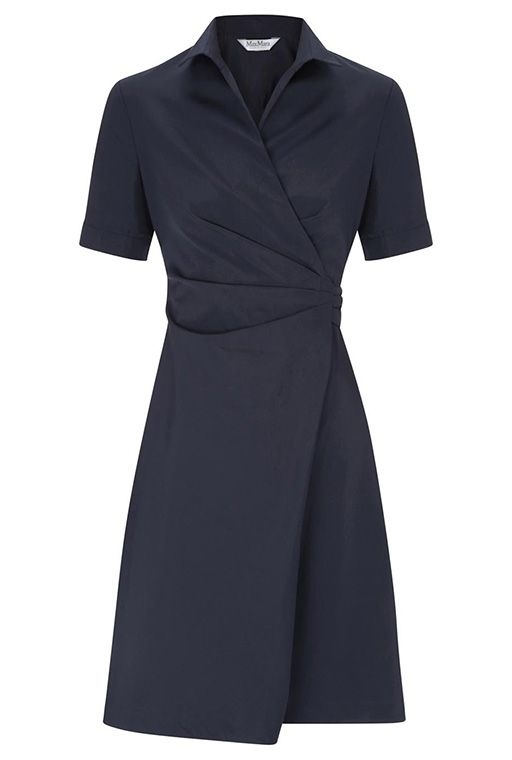 Buisnessy Wrap Dress This Would Look Nice In Knit Too Classic