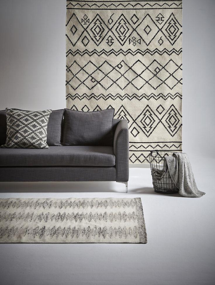 Hertex Sahib and Panja rugs.