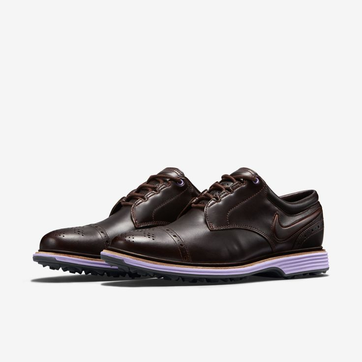 half off 5874e f13a1 nike mens lunar swingtip golf shoes brown red 2014