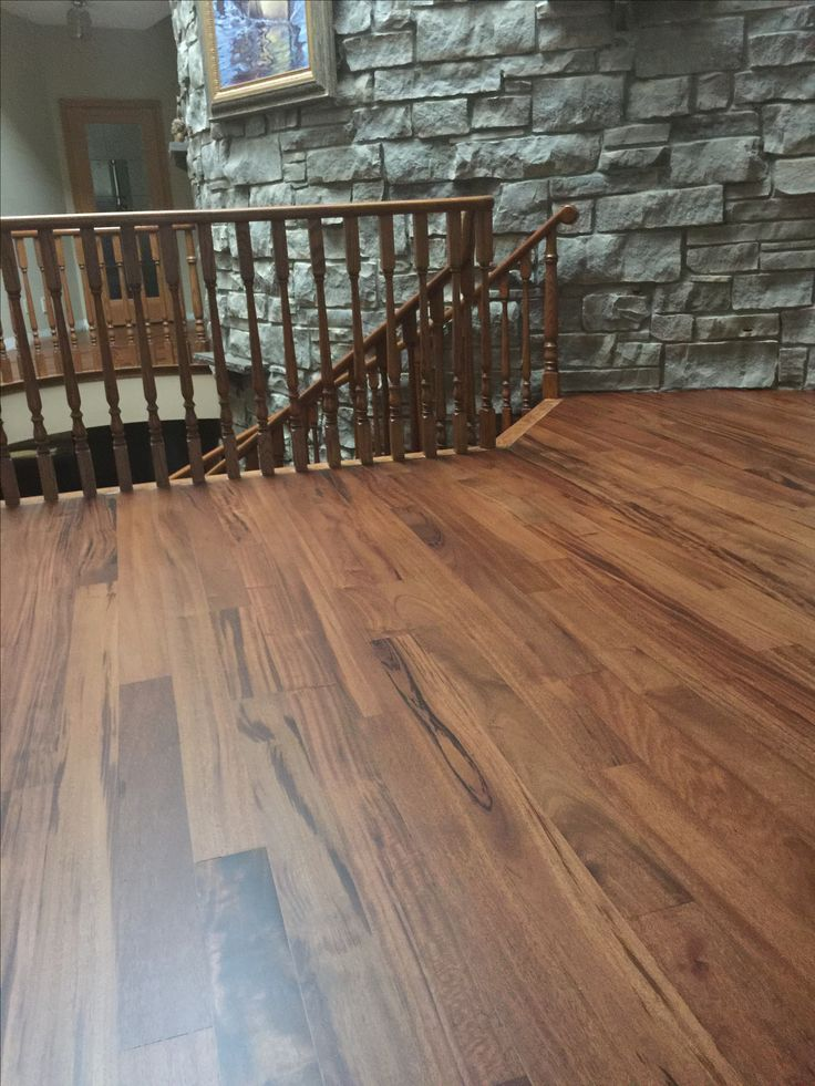 Bona Bark Stain With Bona Hd Extra Matte Finish Stains