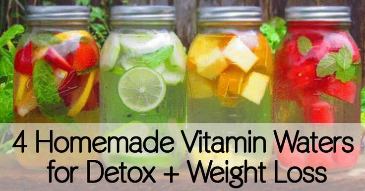 4 Homemade Vitamin Waters for Detox + Weight Loss - Healthy Holistic Living