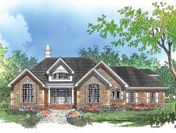 eplans cottage house plan dinner by the bay 1488 square feet and 3 bedrooms from eplans house plan code