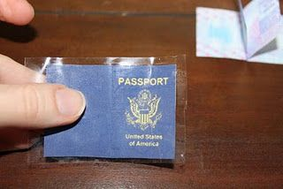 AG-size Passport printable