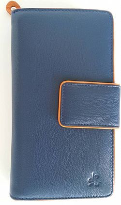Ladies genuine leather wallet