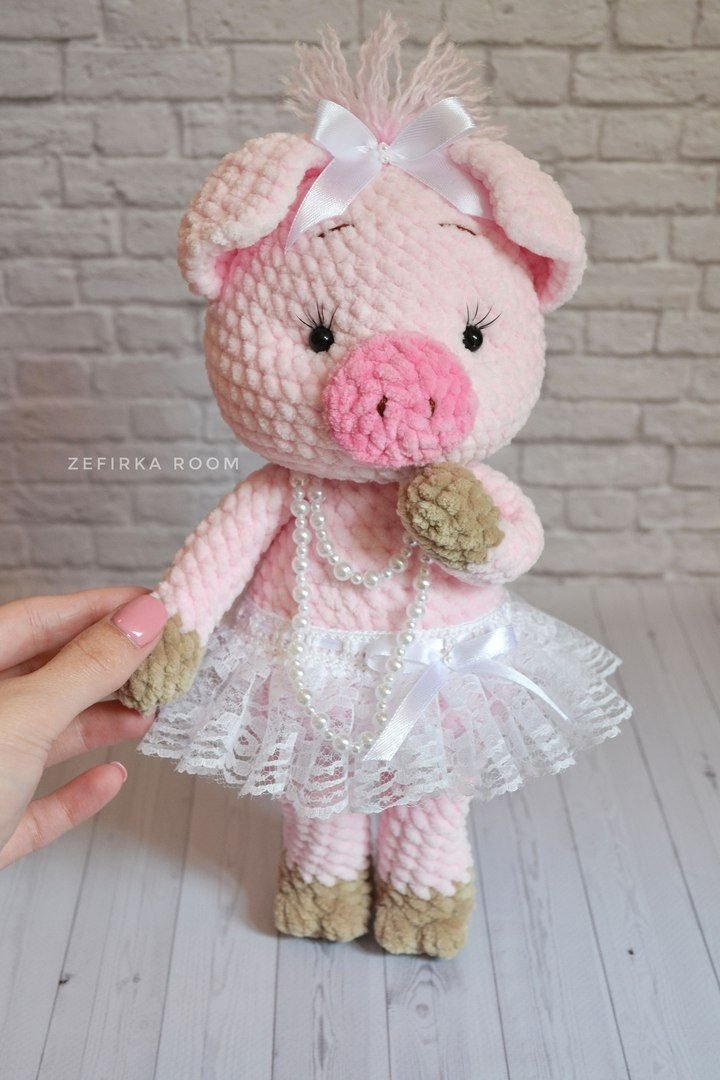 ольга филиппова свинки Crochet Pig Crochet Animal Patterns и