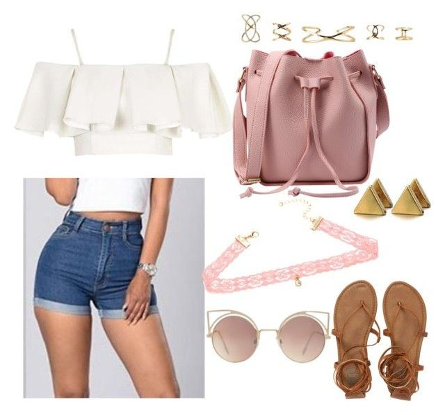 """""""Boardwalk"""" by sincerely-llex ❤ liked on Polyvore featuring Topshop, Billabong, xO Design and MANGO"""