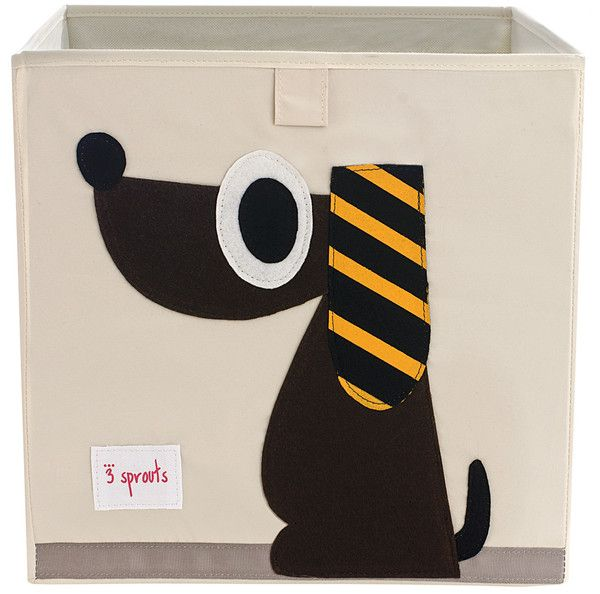 storage boxes from 3 Sprouts would be really easy to make with wool felt and canvas totes!