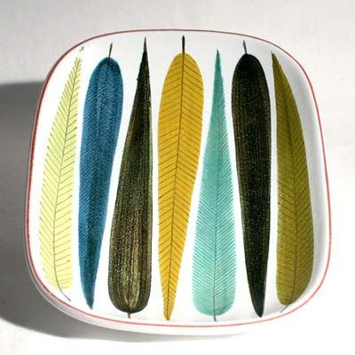 the late post war swedish designer Stig Lindberg designed beautiful ceramics.                                                                                                                                                                                 More