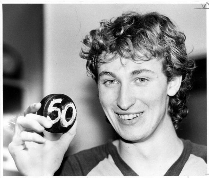 Wayne Gretzky - 50 in 39 | Edmonton Oilers | NHL | Hockey