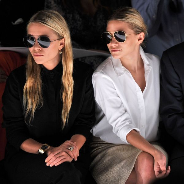 Olsen Twins...they're strange, but they're stunning.