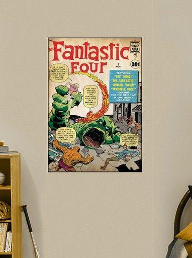 Fantastic Four Comic Book #1 Fathead Wall Graphic