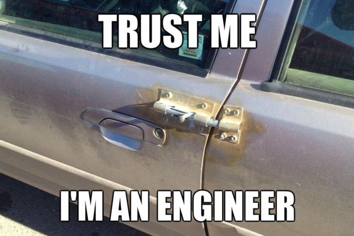 Trust Me, Im an Engineer Solutions
